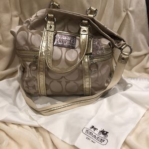 Coach Hobo with Shoulder strap